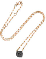 Pomellato Nudo 18-karat Rose Gold Diamond Necklace - Red