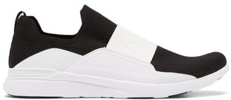 Athletic Propulsion Labs Techloom Bliss Laceless Technical Trainers - Black White