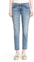 Current/Elliott Women's 'The Stiletto' Star Print Skinny Jeans