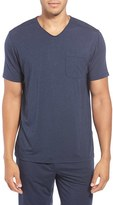 Daniel Buchler Men's Stretch Modal V-Neck T-Shirt