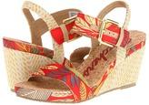 Skechers Modiste - Floral Burst (Red) - Footwear