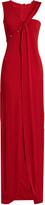 Thierry Mugler Asymmetric-neckline sleeveless gown