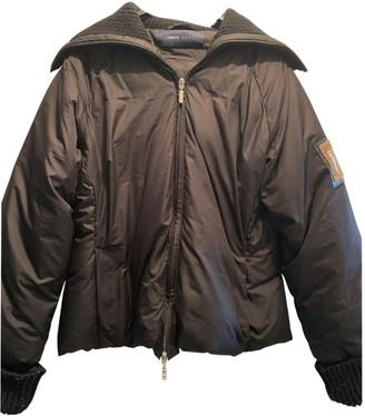 Cerruti Black Polyester Leather jackets