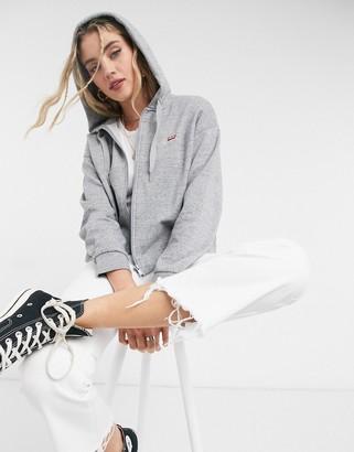 Levi's skate zip hoodie in grey