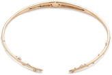 Alexis Bittar Satellite Crystal Spike Hinged Collar Necklace