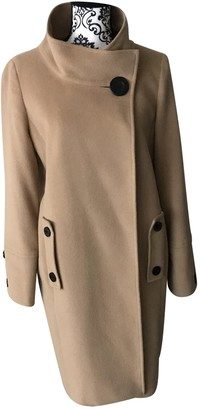 Jaeger Camel Wool Coat for Women