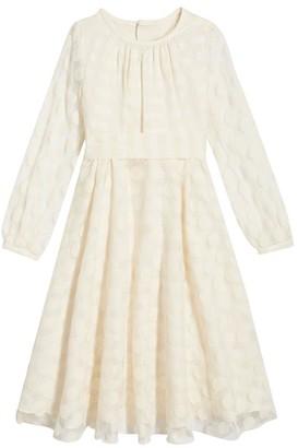Oscar de la Renta Linen Dress