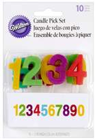 Wilton Numbers Candle Pick Set 10 ct