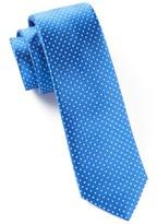 The Tie Bar Royal Blue Pindot Tie
