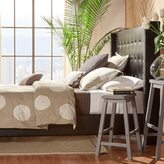 Inspire Q Marion Nailhead Wingback Tufted Upholstered Full-sized Bed