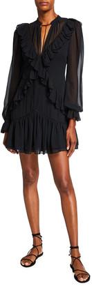 Jonathan Simkhai Joya Chiffon Mini Dress
