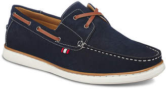 Members Only Men's Faux-Leather Deck Boat Shoes