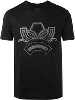 Les Hommes silver-tone print t-shirt - men - Cotton - XS