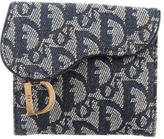 Christian Dior Diorissimo Compact Wallet