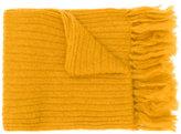 Mp Massimo Piombo - fringed scarf - men - Nylon/Mohair/Wool - One Size