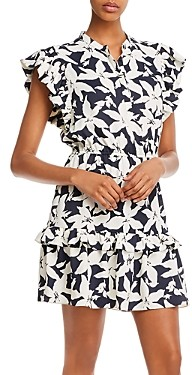 Joie Krystina Printed Mini Dress