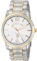 U.S. Polo Assn. Classic Men's USC80312 Analog-Quartz Two Tone Watch