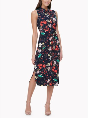 Tommy Hilfiger Essential Sleeveless Floral Dress