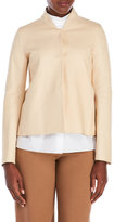 Ter Et Bantine Leather Button Front Jacket