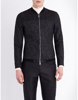 Etro Paisley-print Leather Jacket