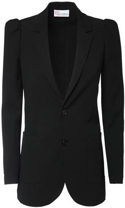 RED Valentino Wool Blend Blazer Jacket