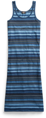 Ralph Lauren Striped Jersey Tank Dress