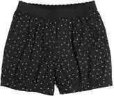 Dolce & Gabbana Polka Dots Print Stretch Cotton Shorts