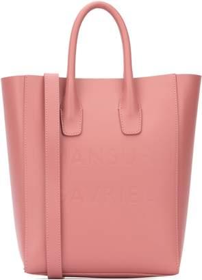 Mansur Gavriel Logo Embossed Tote Bag