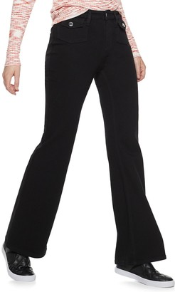 Nine West Women's High Rise Flare Jeans