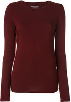 Majestic Filatures crew neck fitted top
