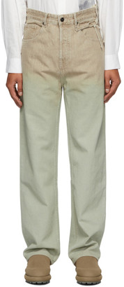 Jacquemus Brown Le Jean Trousers