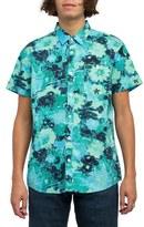 RVCA Backroom Floral Print Shirt