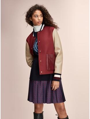 Tommy Hilfiger Wool Varsity Jacket