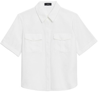 Theory Patch Pocket Shirt