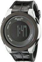 Kenneth Cole New York Unisex 10022809 KC Connect- Technology Digital Display Japanese Quartz Black Watch