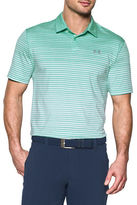 Under Armour CoolSwitch Trajectory Striped Golf Polo