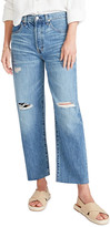 Thumbnail for your product : ÉTICA Tyler High-Rise Distressed Boyfriend Ankle Jeans