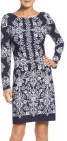 Vince Camuto Women's Floral Sheath Dress
