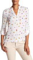 Robert Graham Trish Floral Silk Shirt