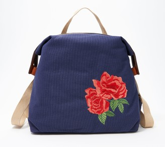 G.I.L.I. Got It Love It G.I.L.I. Embroidered Canvas Backpack