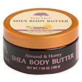 Tree Hut Shea Body Butter, Almond & Honey, 7-Ounce (Pack of 3)