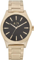 Armani Exchange Nico Gold Stainless Steel Watch