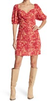 Thumbnail for your product : Lucy Paris Laurie Puff Sleeve Mini Dress