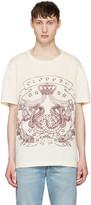 Gucci Ivory 'Loved' Logo T-Shirt