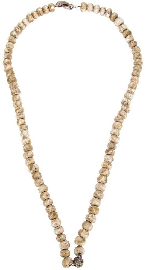 Loree Rodkin large beaded necklace