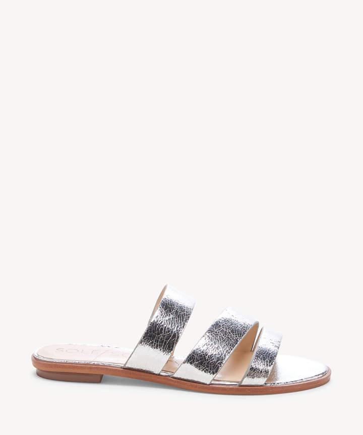 Sole Society Simonaa Asymmetrical Flat Sandal