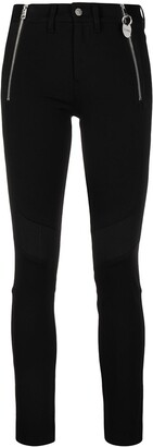 Diesel Panelled Side Zip Skinny Trousers