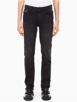 Calvin Klein Slim Straight Black Jeans