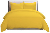 Epoch Hometex Lotus Home Water & Stain Resistant Duvet Cover Mini Set, Yellow, Full/