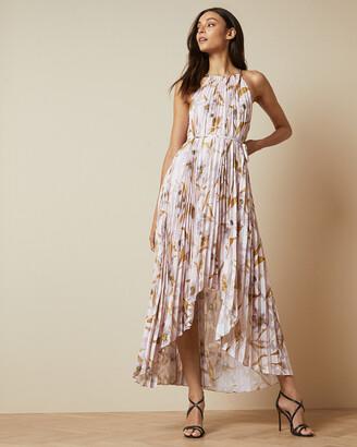 Ted Baker DIXXIE Cabana pleated maxi dress